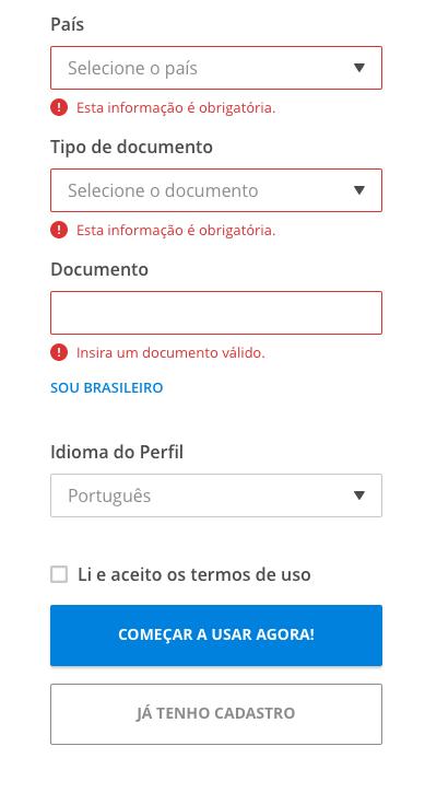Documento estrangeiro - VAGAS.com