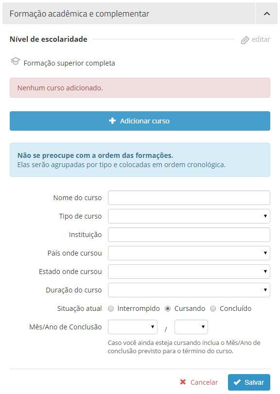 campo curso vagas.com.br