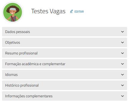 campos do currículo vagas.com.br
