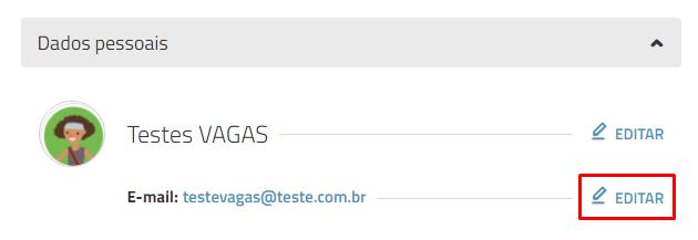 Atualizar e-mail - VAGAS.com