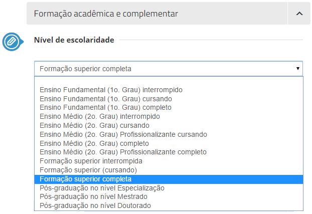nível de escolaridade vagas.com.br