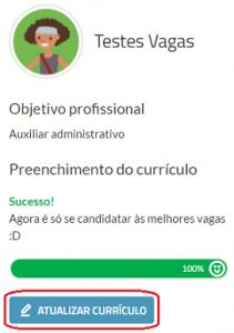 atualizar currículo vagas.com.br