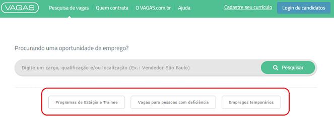 programas de estágio vagas para pcd temporários vagas.com.br