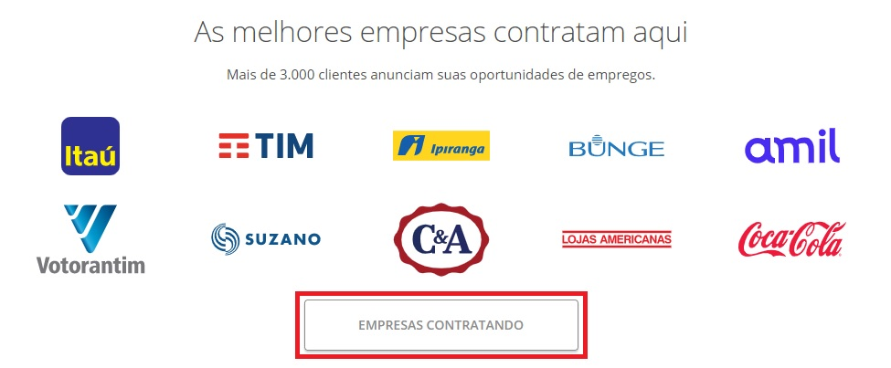 Empresas contratando VAGAS.com.br