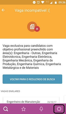 vaga incompativel vagas.com.br