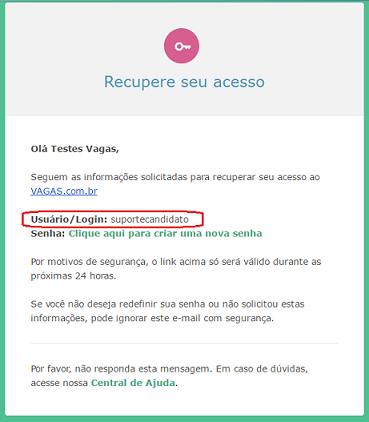 usuário login senha vagas.com